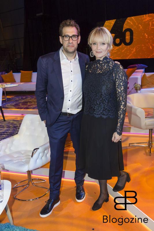 2016-11-16 Svt fyller 60 år. På Bilden: Niklas Källner och Kattis Ahlström COPYRIGHT STELLA PICTURES