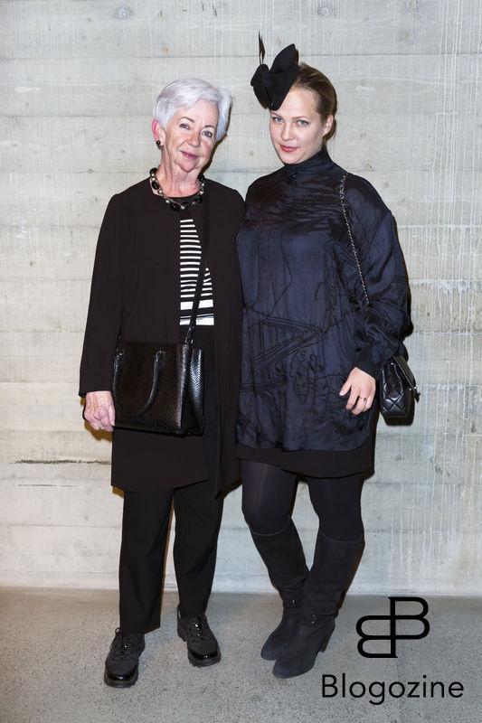 2016-11-03 Lars Wallins jubileumsutställningen Fashion Stories på Artipelag På Bilden: Malinda Damgaard, Bibbi Kant COPYRIGHT Jari Kantola/STELLA PICTURES