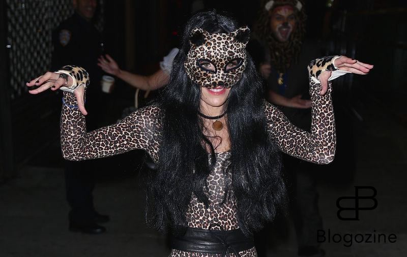 Bethenny Frankel - Les célébrités arrivent à la soirée d'Halloween de Heidi Klum au Vandal club à New York, le 31 octobre 2016 People seen arriving at Heidi Klum's Halloween party at Vandal club in New York, Amanda Seyfried out and about in New York, on October 31st 2016.